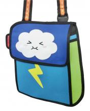 2D ANIME THUNDERCLOUD SHOULDER BAG