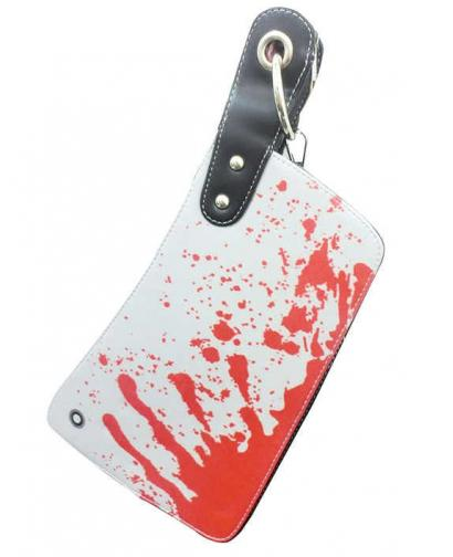 2D BLOOD KNIFE HANDBAG
