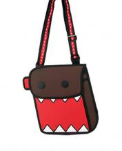 FASHION JAPANESE ANIME CARTOON WHIMSY DOMO PAPER SHOULDER BAG