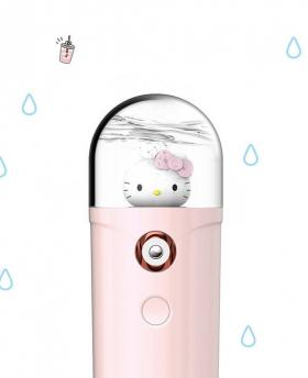 Emie Super Cute Cartoon Hellokitty Mini Water Spray Meter Power Bank