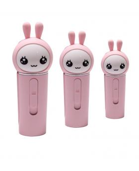 Cute Cartoon Rabbit Mini Water Spray Meter Power Bank