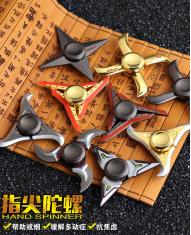 Glory of the King No.1 Tri Fidget Hand Spinner Focus Finger Gyro EDC Toy