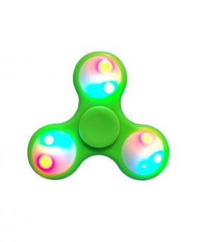 LED Hand Spinner Tri Fidget Hand Spinner Focus Finger Gyro EDC Toy