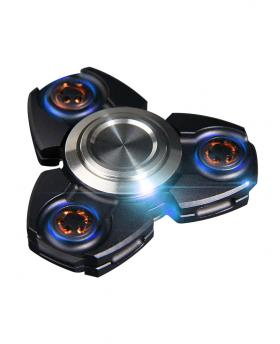 Super Cool Zinc Alloy Tri Fidget Hand Spinner Focus Finger Gyro EDC Toy