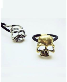 RETRO PUNK THREE-DIMENSIONAL SKULL METAL HAIR ACCESSORIES