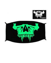 Special Green Luminous Printing Halloween Rave Mask For Ravers No.17