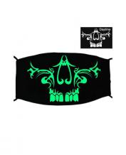 Special Green Luminous Printing Halloween Rave Mask For Ravers No.9