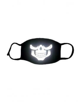 Special 3M Reflective Material Halloween Rave Mask For Ravers No.19