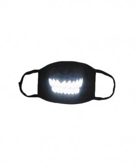 Special 3M Reflective Material Halloween Rave Mask For Ravers No.18