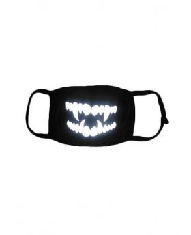 Special 3M Reflective Material Halloween Rave Mask For Ravers No.16