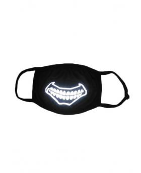 Special 3M Reflective Material Halloween Rave Mask For Ravers No.11