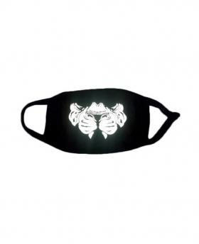 Special 3M Reflective Material Halloween Rave Mask For Ravers No.10