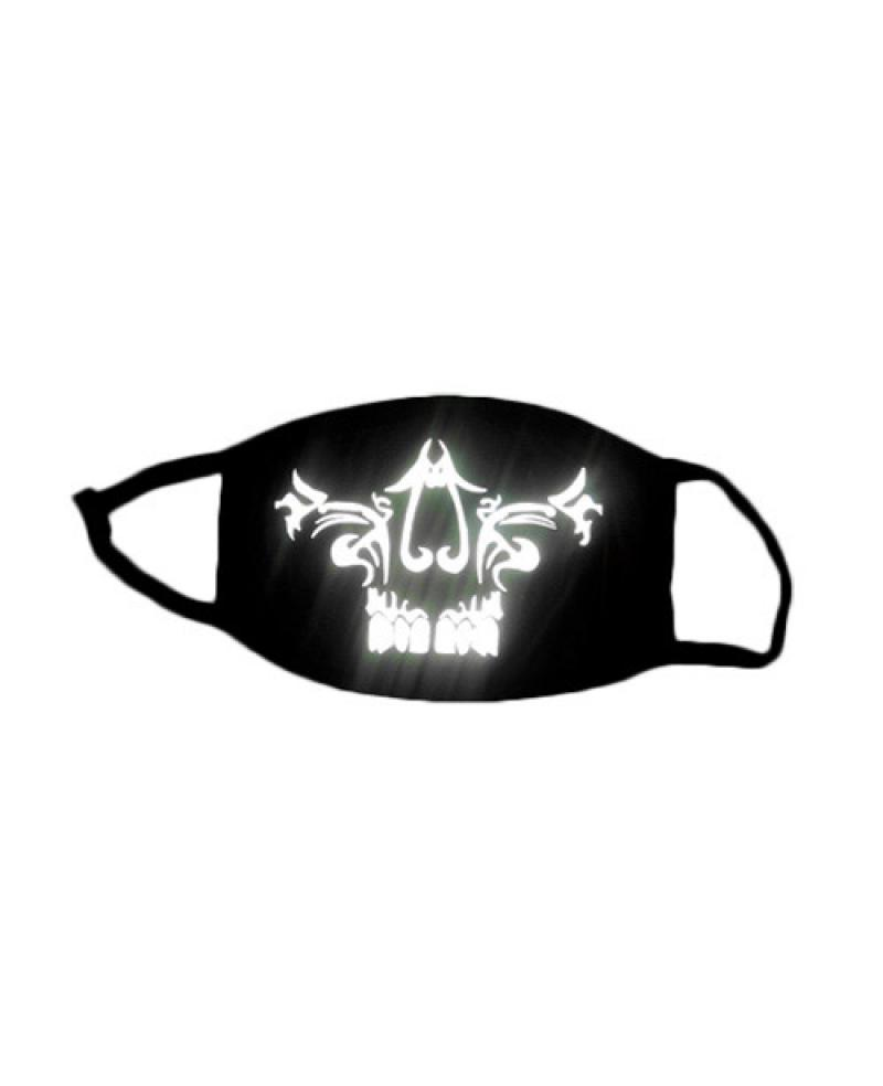 Special 3M Reflective Material Halloween Rave Mask For Ravers No 9