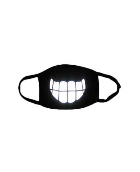 Special 3M Reflective Material Halloween Rave Mask For Ravers No.6