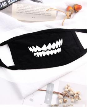 Tooth Printing Halloween Rave Mask For Ravers NO.3