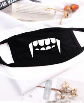 Tooth Printing Halloween Rave Mask For Ravers NO.4