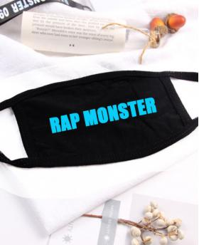 Special Blue Noctilucent Printing Halloween Rave Mask For Ravers No.4