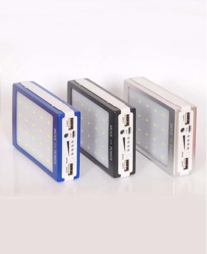 8000mAh Dual USB Portable Solar Battery Charger Power Bank For Cell Phone