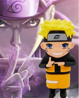 Creative Naruto Cartoon Characters Portable Charger Power Bank 5200mAh - NO. 1 Naruto
