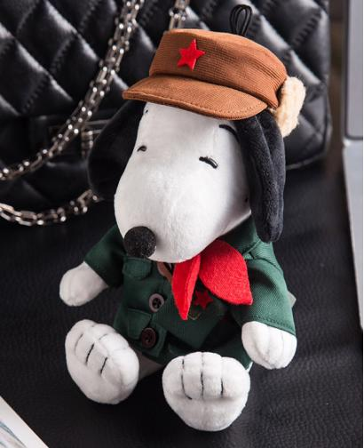 Creative Mini Snoopy Plush Doll Portable Power Bank
