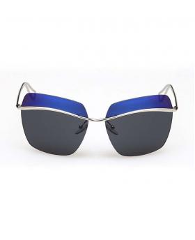 Fashion Colored Eyebrow Sunglasses 100% UV Protection
