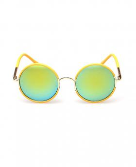 Fashion Colorful Circular Sunglasses