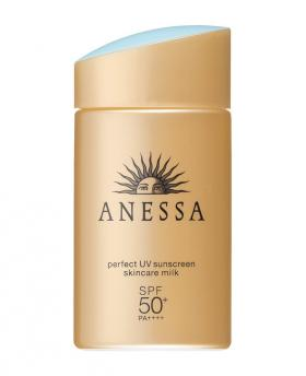 2018 Shiseido ANESSA Skincare Milk Perfect UV Sunscreen EX SPF50+/PA++++ 60ml