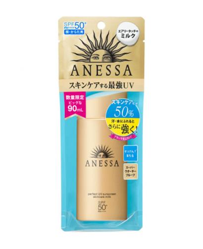 2018 Shiseido ANESSA Skincare Milk Perfect UV Sunscreen EX SPF50+/PA++++ 90ml