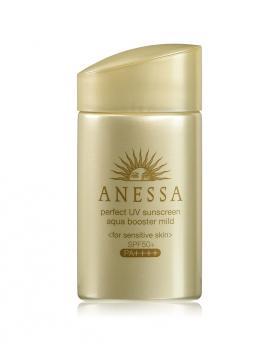 Shiseido Anessa Perfect UV Sunscreen Aqua Booster Mild for Sensitive Skin SPF50+ PA++++ 60ml