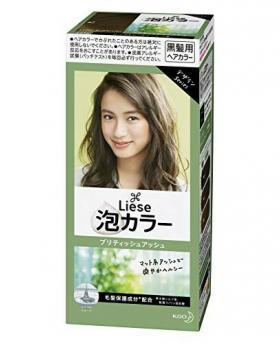 Kao Liese Prettia Bubble Hair Color, British Ash [Fade Decolorizer Recommended ]