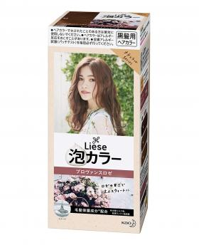 Kao Liese Prettia Bubble Hair Color, Provence Rose [Fade Decolorizer Recommended ]
