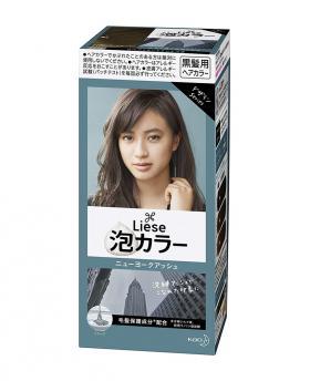 Kao Liese Prettia Bubble Hair Color, New York Ash [Fade Decolorizer Recommended ]