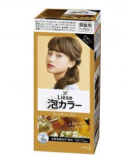 Kao Liese Prettia Bubble Hair Color, French Beige