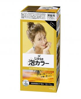 Kao Liese Prettia Bubble Hair Color, California Beige