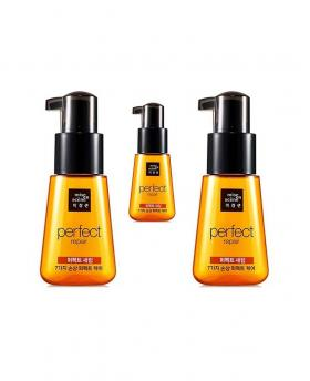 Amore Pacific Mise En Scene Perfect Repair Serum for Damaged Hair 2x70ml+1x15ml Travel Size