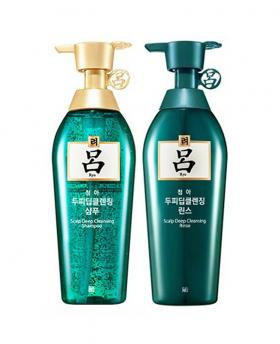Ryeo / Ryo Chung Ah Mo Shampoo & Conditioner for Oily Hair with Dandruff 400ml