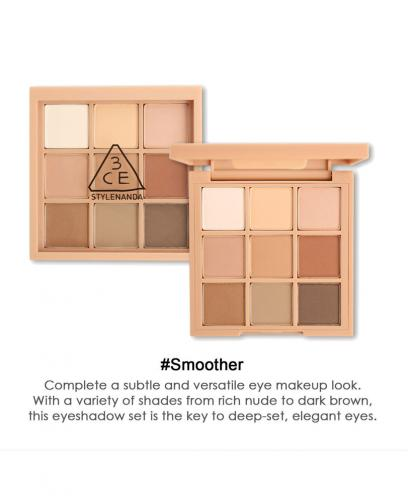 Korea Stylenanda 3CE Mood Recipe Multi Eye Color Palette #Smoother