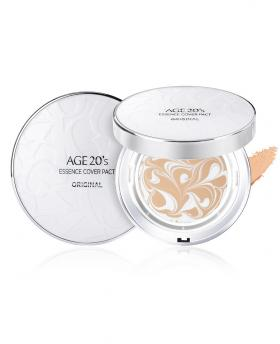 AGE 20'S ESSENCE COVER PACT Long Stay WHITE LATTE SPF50+ / PA+++ *2 Pieces