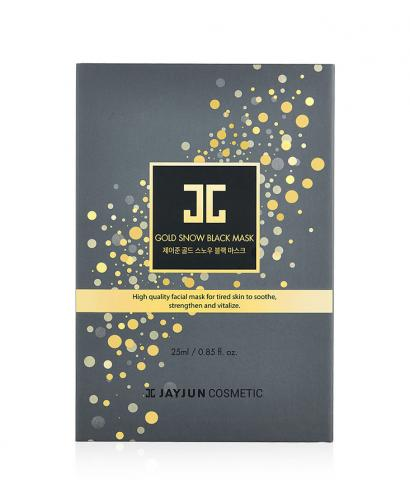 Korea Jayjun Gold Snow Black Mask 25ml x 5 Pieces