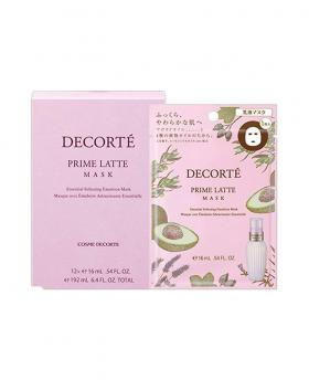 Japan Decorte Prime Latte Essential Softening Emulsion Mask 1 Piece