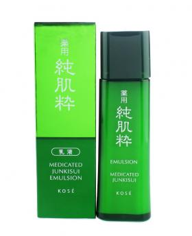 Japan KOSE Medicated Junkisui Emulsion 120ml