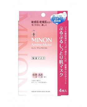Japan Minon Amino Moist Moisturizing Face Mask 4pcs