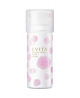 JAPAN KANEBO EVITA BEAUTY WHIP SOAP 150g ROSE FOAM FACIAL CLEANSER