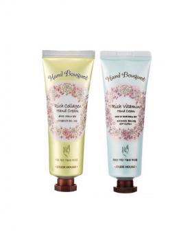 Etude House Hand Bouquet Rich Collagen and Vitamin Hand Cream 50ml