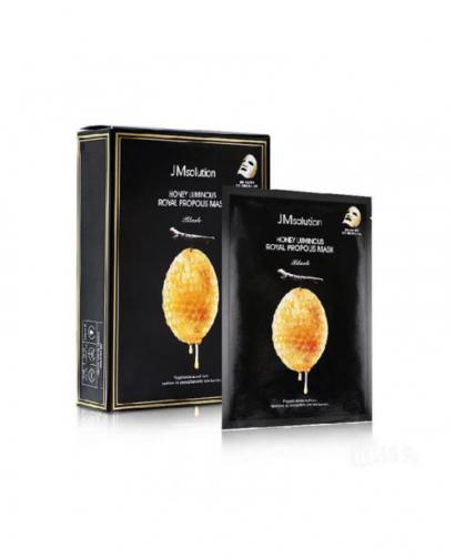 [JM SOLUTION] HONEY LUMINOUS ROYAL PROPOLIS MASK 10 Pieces