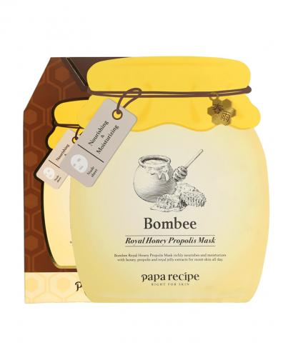 Papa Recipe - Bombee Royal Honey Propolis Mask (4th Anniversary Limited Edition) 7 Pieces