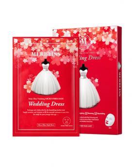 Korea MERBLISS Wedding Dress Ruby Ultra Vitalizing Micro-Fiber Mask (5pcs)