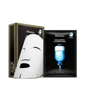 Korea JMsolution WATER LUMINOUS S.O.SRINGER MASK BLACK 1 Piece