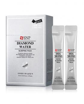 Korea SNP Diamond Water Sleeping Pack No Wash Mask 20 Pieces / 1box