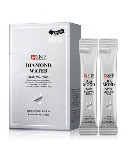 Korea SNP Diamond Water Sleeping Pack No Wash Mask 20 Pieces / 1box